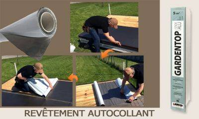 Roofing autocollant Gardentop Stick Iko 5x1m