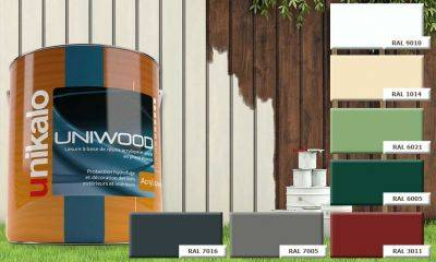 Lasure Uniwood Acryl opaque satin 3L Unikalo