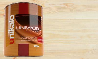 Lasure d'imprégnation UNIWOOD THD incolore 3 litres