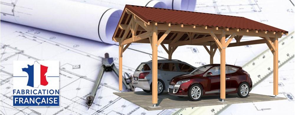 Carport bois :réussir votre projet